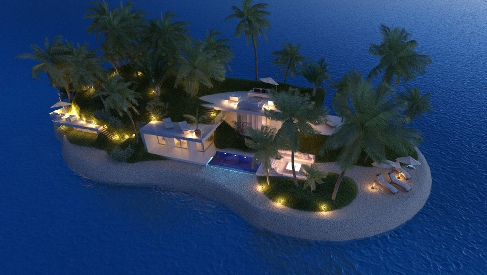 A Christie's vai vender as primeiras ilhas do mundo privadas e portáteis, construídas por uma empresa holandesa
