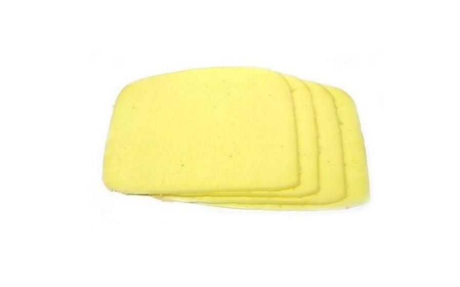 Uma fatia de queijo tipo flamengo 45% gordura (30g)