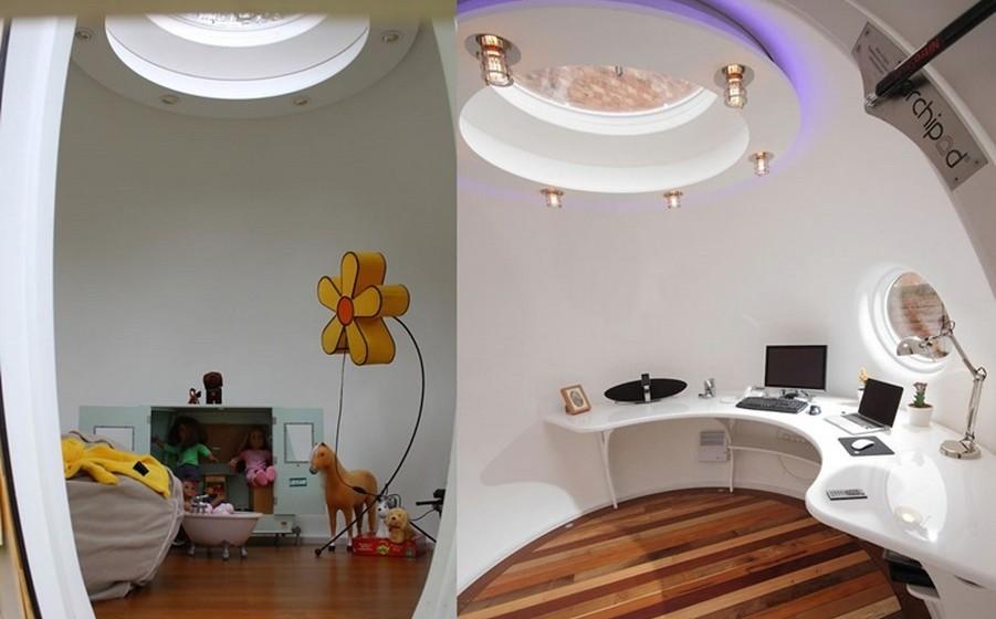 Outra opção é utilizar o Podzook como um quarto extra para receber convidados ou para passar tempo relaxadamente. Pode ainda fazer aqui a sua sala de meditação ou exercícios ou uma sala de arrumações.