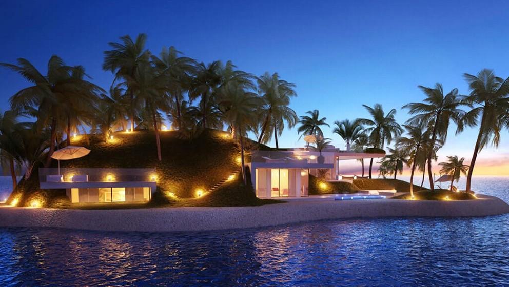 Numa das mais bonitas lagoas das Maldivas, a companhia está a colocar 10 ilhas para venda. A lagoa fica a apenas 25 minutos do aeroporto e cada ilha está a ser desenhada com o máximo de privacidade, luxo e conforto.
