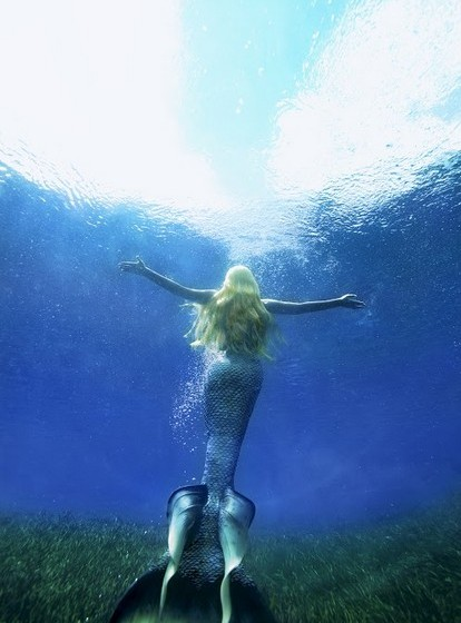 Em 2008, Melissa começou a fazer espetáculos em tanques de água, de forma mais profissional.
