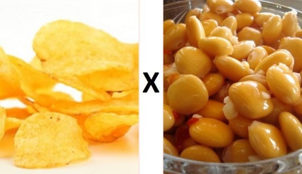 Batata frita X Tremoços